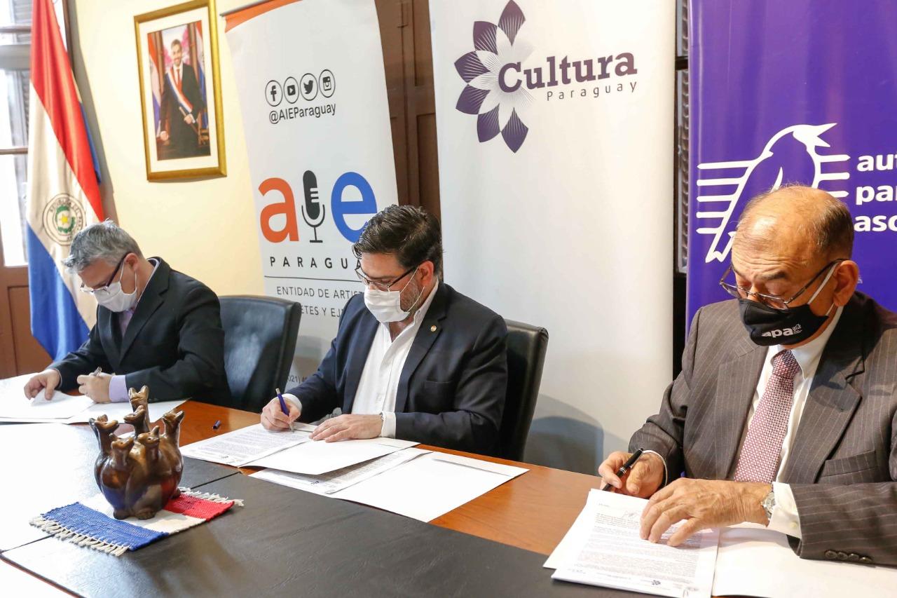 Ingresan a Ibermúsicas las tres sociedades de gestión de derechos musicales más importantes de Paraguay