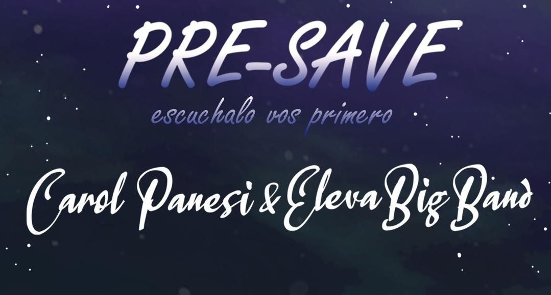 Se lanza en todas las plataformas un EP con la música creada por la compositora brasileña Carol Panesi durante su residencia compositiva junto a Eleva Big Band de Argentina