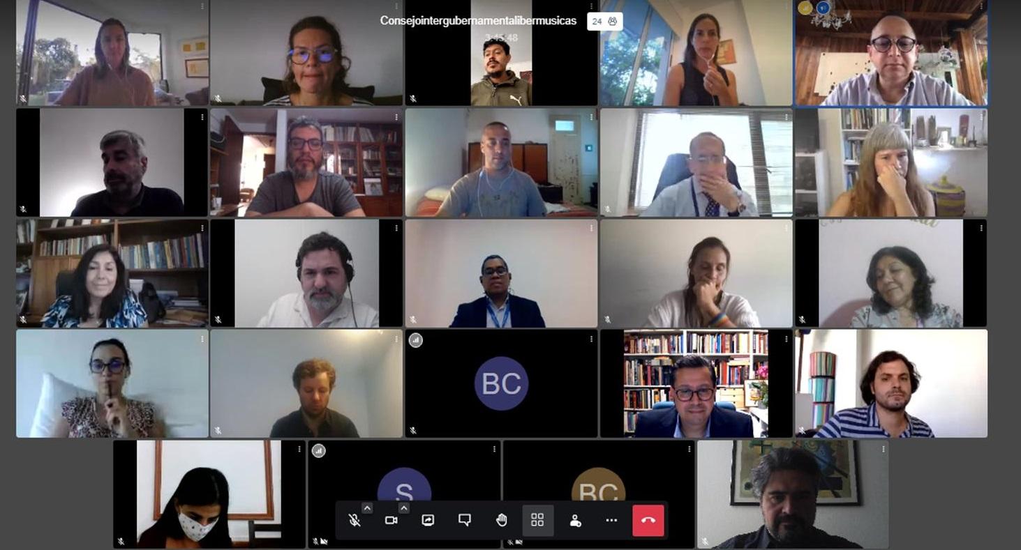 Ibermúsicastem o prazer de anunciar as novas autoridades do Programa, escolhidas durante a recentereunião virtual do ConselhoIntergovernamental