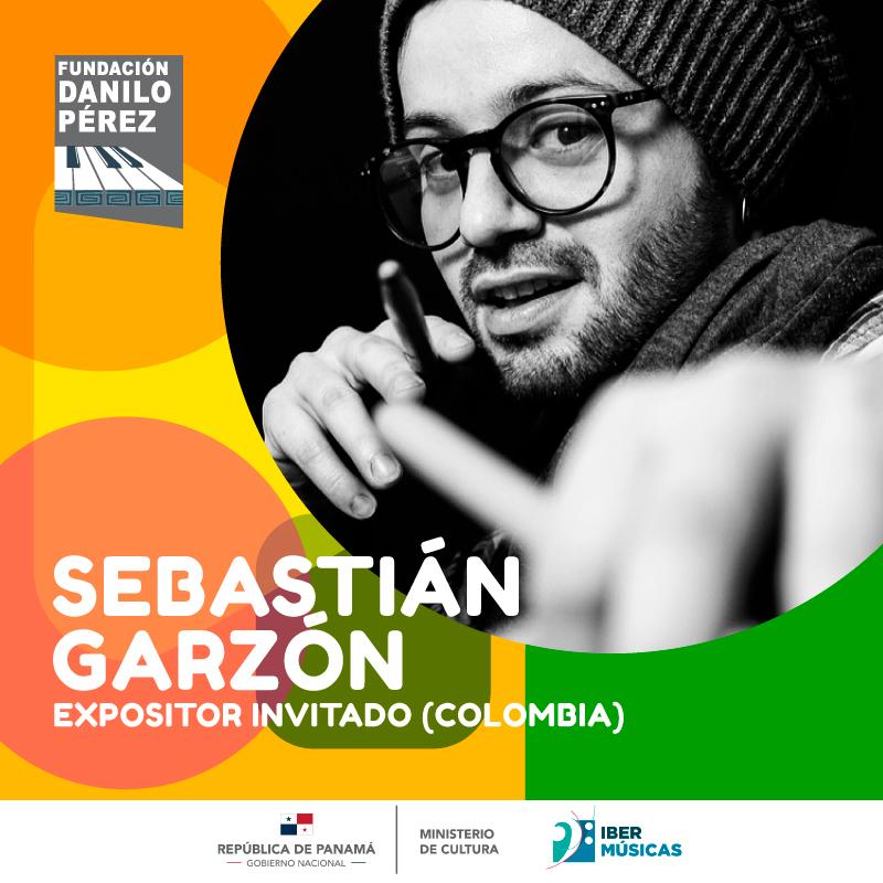 La Fundación Danilo Pérez continúa con su ciclo conexión musical panameña, en esta ocasión con la presencia del baterista, percusionista, compositor, educador y gestor cultural colombiano Sebastián Garzón