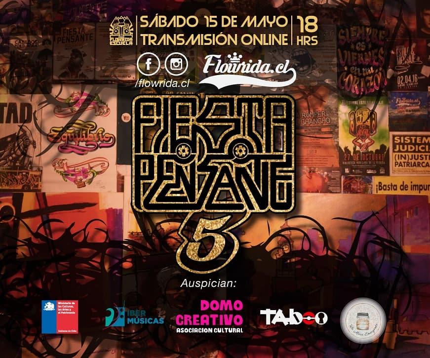 """Llega desde Chile la """"5° Fiesta Pensante"""" organizada por el centro juvenil y cultural Flowrida Escuela"""