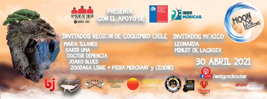 "Comienzan las emisiones de ""Moon Live Sessions"" de Chile"
