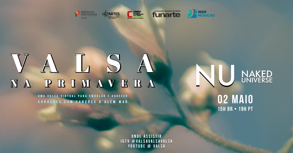"""Ligiana Costa y NU (Naked Universe) de Brasil fueron parte de la programación del festival """"Valsa na Primavera"""""""