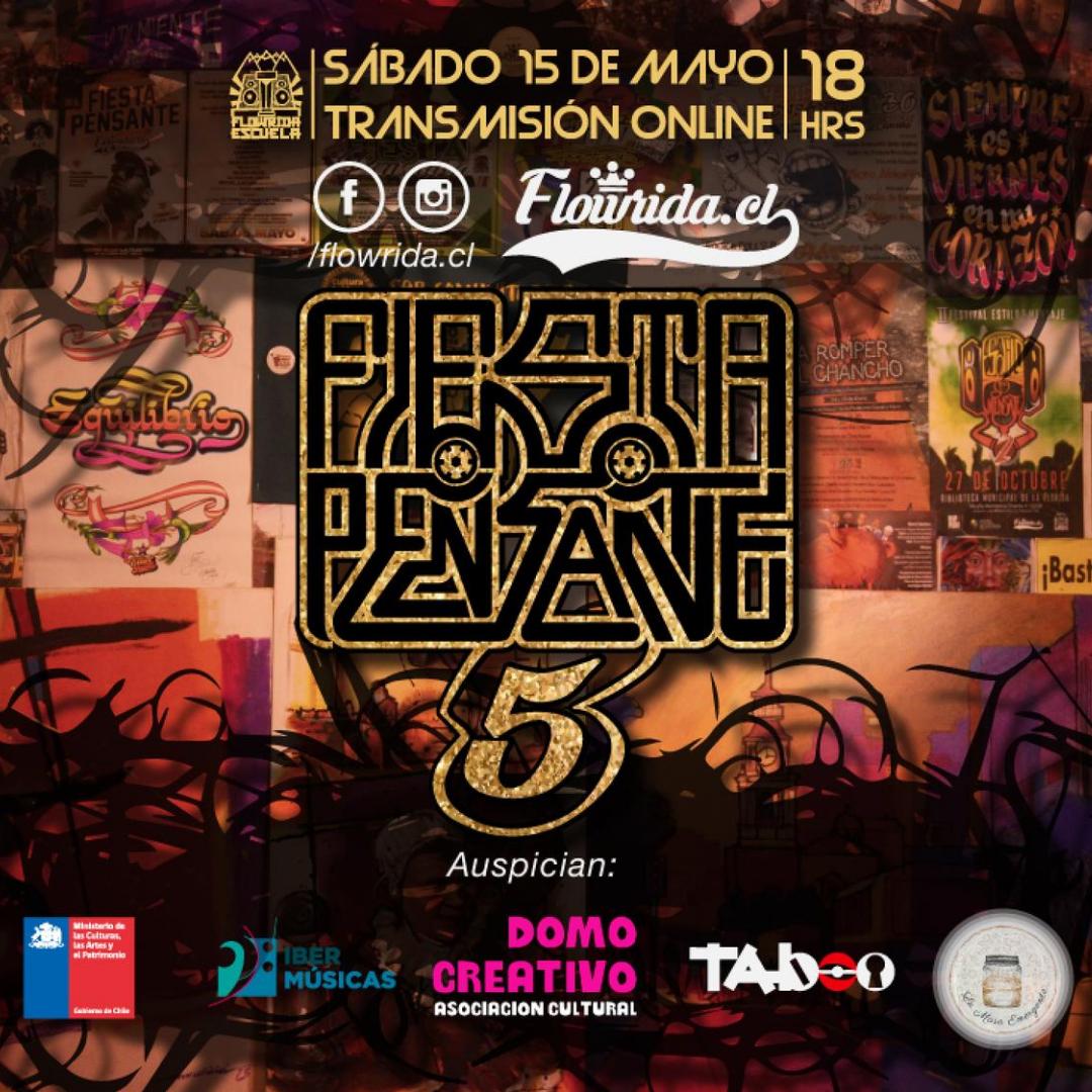 Desde Chile, Flowrida Escuela realizó el Festival virtual '5° Fiesta Pensante'