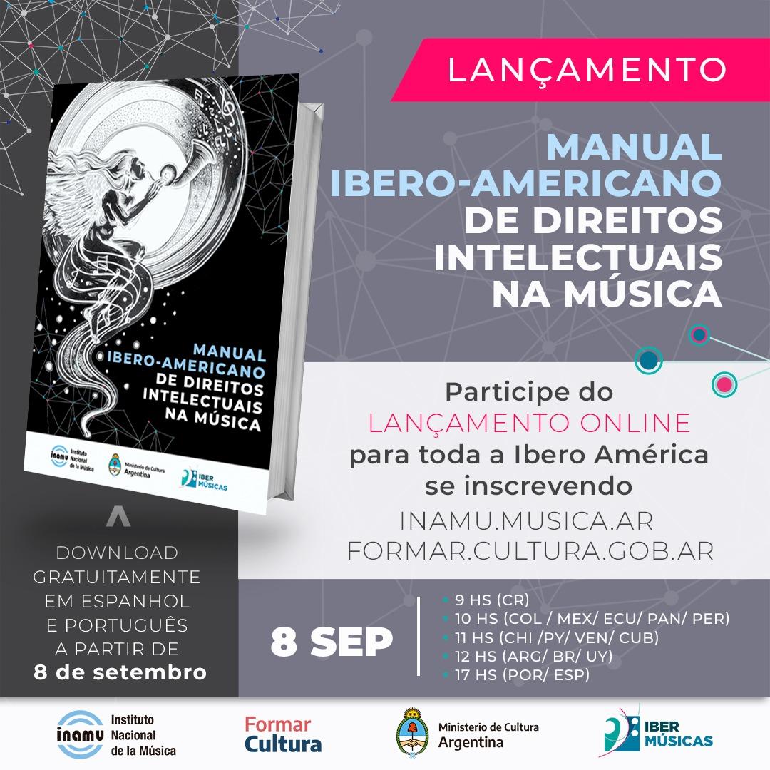 Baixe aqui o Manual Ibero-americano de Direitos Intelectuais na Música
