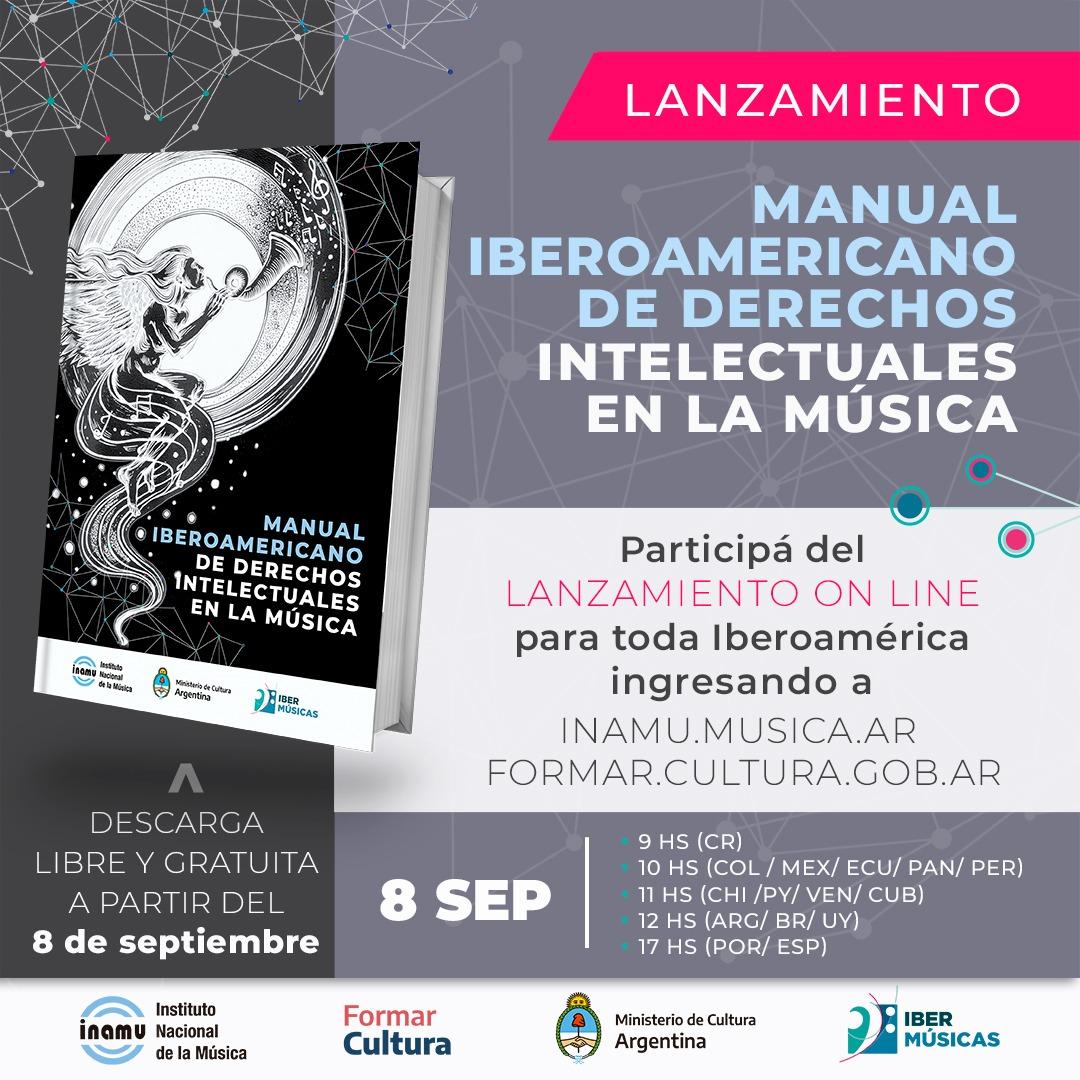 Descargá aquí el Manual Iberoamericano de Derechos Intelectuales en la Música!